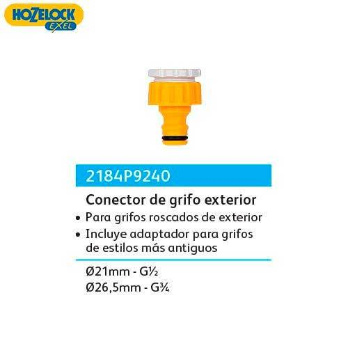 CONECTOR HZL GRIFO EXT 3/4-1/2 2184P9240
