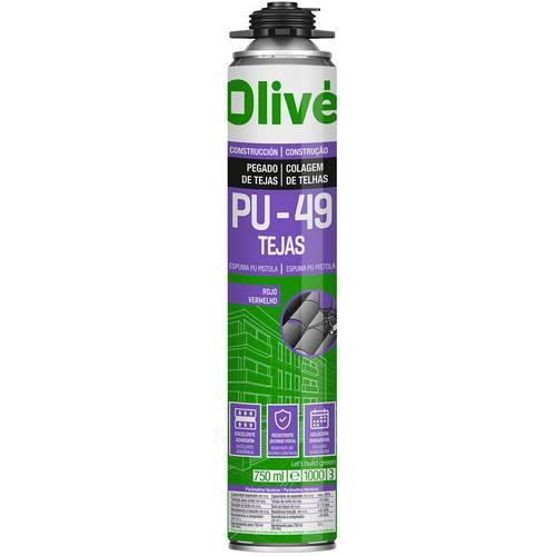 OLIVE PU49 SPRAY MANUAL 750ML GRIS