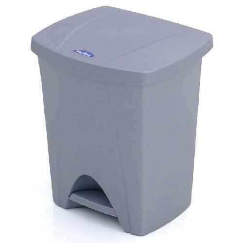 CUBO PEDAL PLASTIK NATURE 25L PLATA 6425-015781