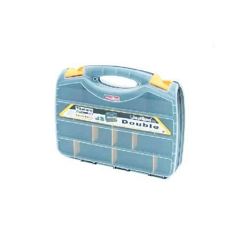 ORGANIZ PLASTIK TITANIUM DOBLE 38CM NEGR 80382