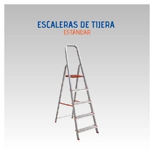 ESCALERA LUBER STAND ALUM 8-PELD
