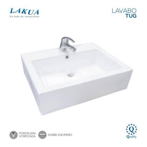 LAVABO LAKUA TUG ENCIMERO 570X450X160