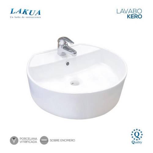 LAVABO LAKUA KERO ENCIMERO 485X430X155