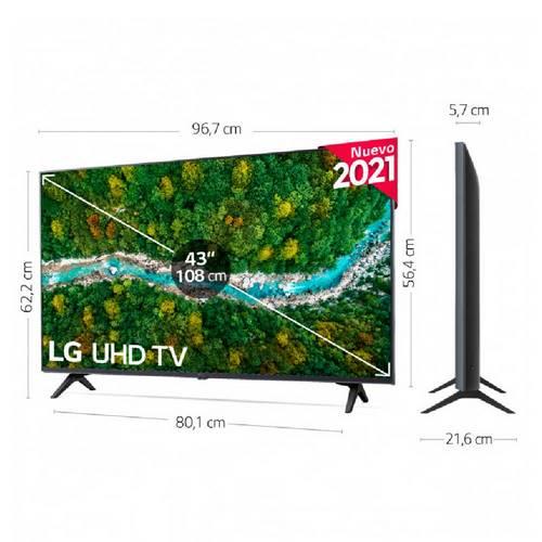 LED LG 43UP77006LB.AEU 4K UHD