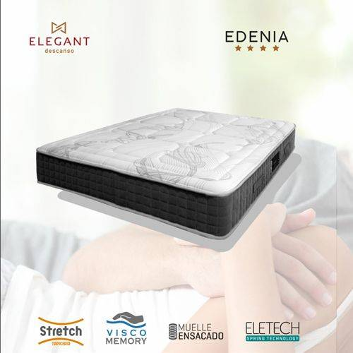 COLCHON ELEG EDENIA 90X190