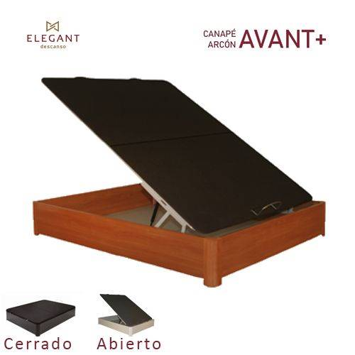 CANAPE ELEG ARCON AVANT 90X190 3D CEREZ