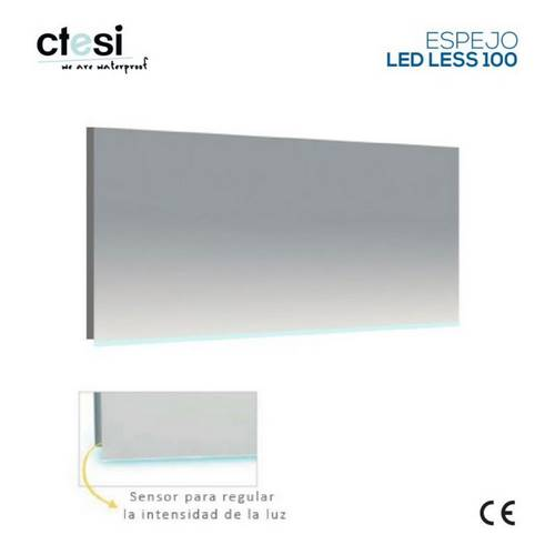ESPEJO BAÑ CTESI LESS LEDS 100X50 BL1004840